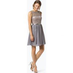 Laona - Damska sukienka wieczorowa, szary. Szare sukienki balowe marki Laona, w koronkowe wzory, z koronki. Za 649,95 zł.