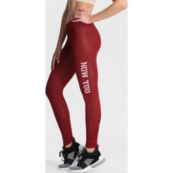 Bordowe Legginsy Run With Wind. Czarne legginsy marki other, l. Za 19,99 zł.