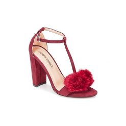 Sandały Buffalo  PILOUTE. Czerwone sandały trekkingowe damskie Buffalo. Za 207,20 zł.