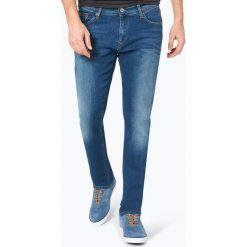 Tommy Jeans - Jeansy męskie – Scanton, niebieski. Niebieskie jeansy męskie z dziurami marki Tommy Jeans. Za 449,95 zł.