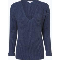 Marie Lund - Sweter damski, niebieski. Niebieskie swetry klasyczne damskie Marie Lund, l, z dzianiny, z dekoltem w serek. Za 229,95 zł.