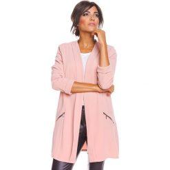 """Odzież damska: Kardigan """"Solene"""" w kolorze jasnoróżowym"""