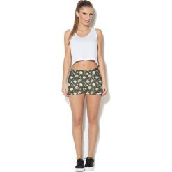Colour Pleasure Spodnie damskie CP-020 266 zielono-różowe r. XL-XXL. Różowe spodnie sportowe damskie marki Colour pleasure. Za 72,34 zł.