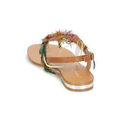 Sandały Metamorf'Ose  CARBES. Brązowe sandały damskie Metamorf'Ose. Za 207,20 zł.
