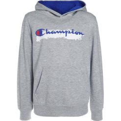 Bejsbolówki męskie: Champion HOODED  Bluza z kapturem mottled light grey