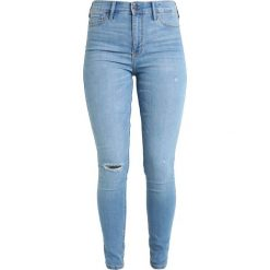 Hollister Co. Jeans Skinny Fit medium destroy. Niebieskie boyfriendy damskie Hollister Co. Za 249,00 zł.
