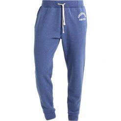 Spodnie dresowe męskie: Abercrombie & Fitch LOUNGE DOORBUSTER Spodnie treningowe med blue