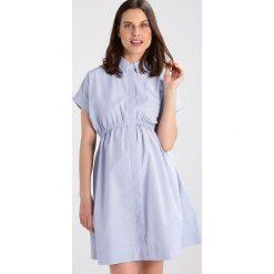 Sukienki hiszpanki: Slacks & Co. BLAKE Sukienka koszulowa blue/white
