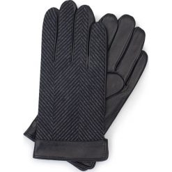 Rękawiczki męskie 39-6-714-1. Czarne rękawiczki męskie marki Wittchen. Za 99,00 zł.