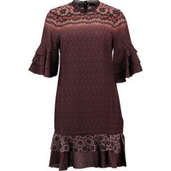 Sukienki hiszpanki: AllSaints RAYEN ANOKHI Sukienka letnia dark red