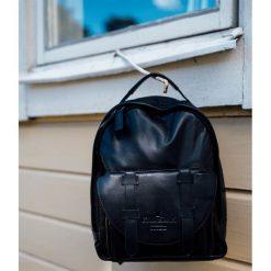 Plecaki męskie: Elodie Details – BackPack MINI – Black Leather
