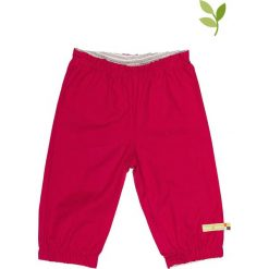 Spodnie niemowlęce: Spodnie outdoorowe w kolorze jagodowym