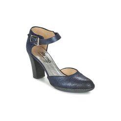 Czółenka Myma  VICTA. Niebieskie buty ślubne damskie Myma. Za 423,20 zł.