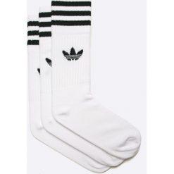 Adidas Originals - Skarpetki (3-pack). Szare skarpetki damskie adidas Originals, z bawełny. W wyprzedaży za 46,90 zł.