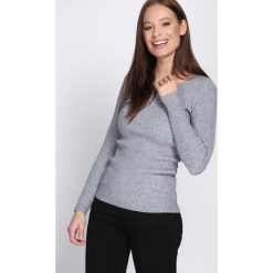 Szary Sweter At The Start. Szare swetry klasyczne damskie Born2be, s. Za 34,99 zł.