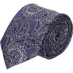 Krawat paisley fiolet 100. Szare krawaty męskie Recman, paisley. Za 49,00 zł.