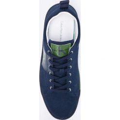 Calvin Klein Jeans - Tenisówki. Szare tenisówki męskie Calvin Klein Jeans, z gumy, na sznurówki. Za 449,90 zł.