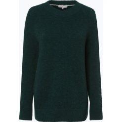Tommy Hilfiger - Sweter damski z dodatkiem alpaki, zielony. Zielone swetry klasyczne damskie TOMMY HILFIGER, l, z wełny. Za 399,95 zł.