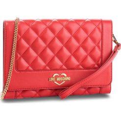 Torebka LOVE MOSCHINO - JC4205PP06KA0500 Rosso. Czerwone torebki klasyczne damskie Love Moschino, ze skóry ekologicznej. Za 719,00 zł.