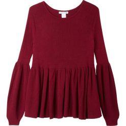 Kardigany damskie: Sweter z cienkiej dzianiny z okrągłym dekoltem