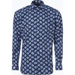Van Graaf - Męska koszula z poszetką, niebieski. Czarne koszule męskie wizytowe marki G-Star RAW, l, z bawełny, z klasycznym kołnierzykiem, z długim rękawem. Za 139,95 zł.