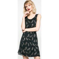Only - Sukienka. Szare sukienki mini marki ONLY, s, z bawełny, casualowe, z okrągłym kołnierzem. W wyprzedaży za 69,90 zł.