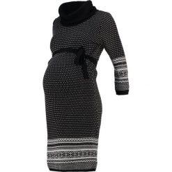 Sukienki dzianinowe: Anna Field MAMA Sukienka dzianinowa black/white