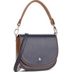 Torebka CREOLE - K10432 Granat/Brąz. Niebieskie torebki klasyczne damskie Creole, ze skóry. W wyprzedaży za 229,00 zł.