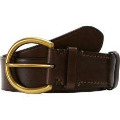 Polo Ralph Lauren Pasek brown. Brązowe paski damskie Polo Ralph Lauren, w paski, z materiału. Za 839,00 zł.