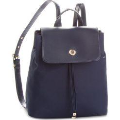 Plecaki damskie: Plecak TOMMY HILFIGER - Dressy Nylon Backpac AW0AW05827 413