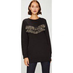 Answear - Bluza. Czarne bluzy damskie ANSWEAR, l, z bawełny, bez kaptura. Za 119,90 zł.