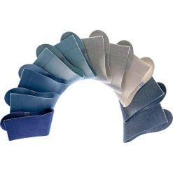 Skarpetki H.I.S (10 par) bonprix odcienie niebieskiego. Niebieskie skarpetki męskie bonprix. Za 79,90 zł.