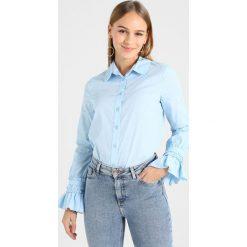 Koszule wiązane damskie: Lost Ink Petite Koszula blue