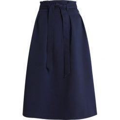 Armani Exchange Spódnica trapezowa blue. Czarne spódniczki trapezowe marki Armani Exchange, l, z materiału, z kapturem. Za 719,00 zł.