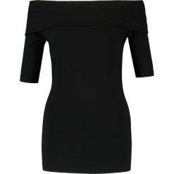 T-shirty damskie: Baukjen Tshirt z nadrukiem caviar black