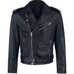 Black Premium by EMP The Road Crew Kurtka skórzana czarny. Czarne kurtki męskie bomber Black Premium by EMP, l, ze skóry, klasyczne. Za 934,90 zł.