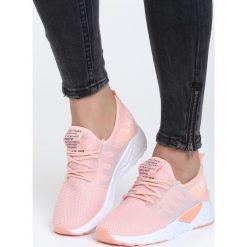 Różowe Buty Sportowe Hard Day. Pomarańczowe buty sportowe damskie marki Born2be, z materiału. Za 89,99 zł.