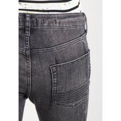 Topman BIKER SPRAYON Jeans Skinny Fit black. Czarne rurki męskie Topman. Za 249,00 zł.