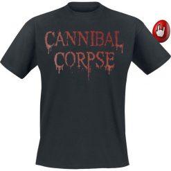 Cannibal Corpse Dripping Logo T-Shirt czarny. Czarne t-shirty męskie Cannibal Corpse, s. Za 54,90 zł.