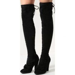 Czarne Kozaki Heart Of Diamonds. Czarne buty zimowe damskie marki vices, na wysokim obcasie. Za 119,99 zł.
