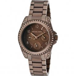 """Zegarek kwarcowy """"Blair"""" w kolorze brązowym. Brązowe, analogowe zegarki damskie marki Michael Kors, ze stali. W wyprzedaży za 560,95 zł."""