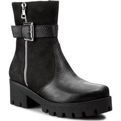 Botki OLEKSY - 238 422/623. Szare buty zimowe damskie marki Oleksy, ze skóry. W wyprzedaży za 259,00 zł.