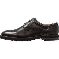 Salamander VASCO Eleganckie buty black. Czarne buty wizytowe męskie Salamander, z materiału, na sznurówki. Za 419,00 zł.