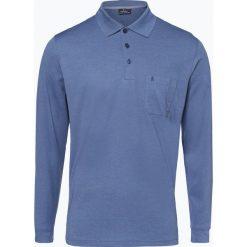 Ragman - Męska koszulka polo, niebieski. Niebieskie koszulki polo Ragman, m, z bawełny. Za 229,95 zł.
