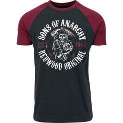 T-shirty męskie: Sons Of Anarchy Redwood Original T-Shirt czarny/czerwony