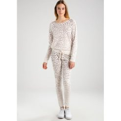 Bluzy damskie: Juvia ANIMAL PRINT FADED SWEAT Bluza khaki
