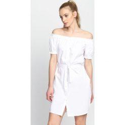 Sukienki: Biała Sukienka Party Girl