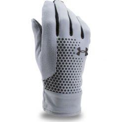 Rękawiczki męskie: Under Armour Rękawiczki męskie Threadborne Run Glove szare r. S (1298515)
