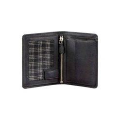 Portfel klasyczny HAMA Amsterdam czarny. Czarne portfele męskie HAMA, ze skóry. Za 99,99 zł.