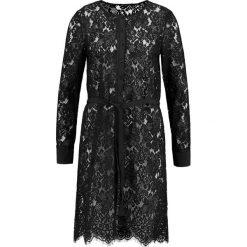Rosemunde DRESS Sukienka koktajlowa black. Czarne sukienki koktajlowe Rosemunde, z bawełny. W wyprzedaży za 373,45 zł.
